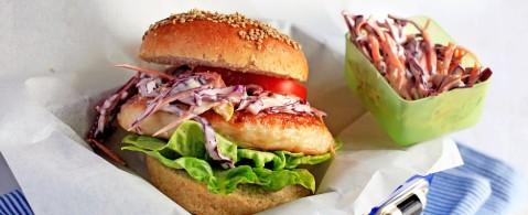 fiskekakeburger