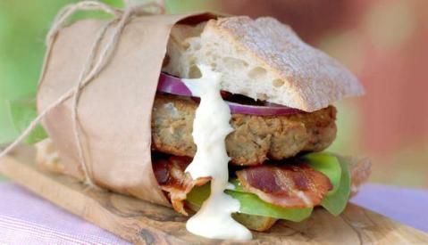 Fiskekakesandwich