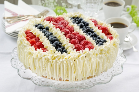 Cream Cake Decoration Images : A classic cake for Norwegian Mother s Day   ARCTIC GRUB