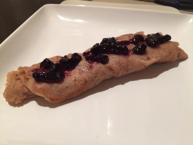 pancakewithbluberries